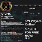 Bài tham dự #27 về Graphic Design cho cuộc thi Utopia Game Home Page and Logo