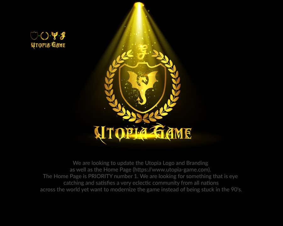 Bài tham dự cuộc thi #                                        44                                      cho                                         Utopia Game Home Page and Logo
