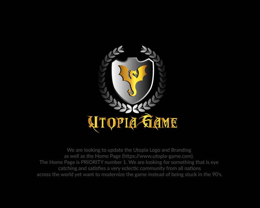 Bài tham dự cuộc thi #                                        46                                      cho                                         Utopia Game Home Page and Logo