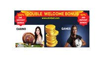 Proposition n° 48 du concours Graphic Design pour Double Welcome Bonus Banner