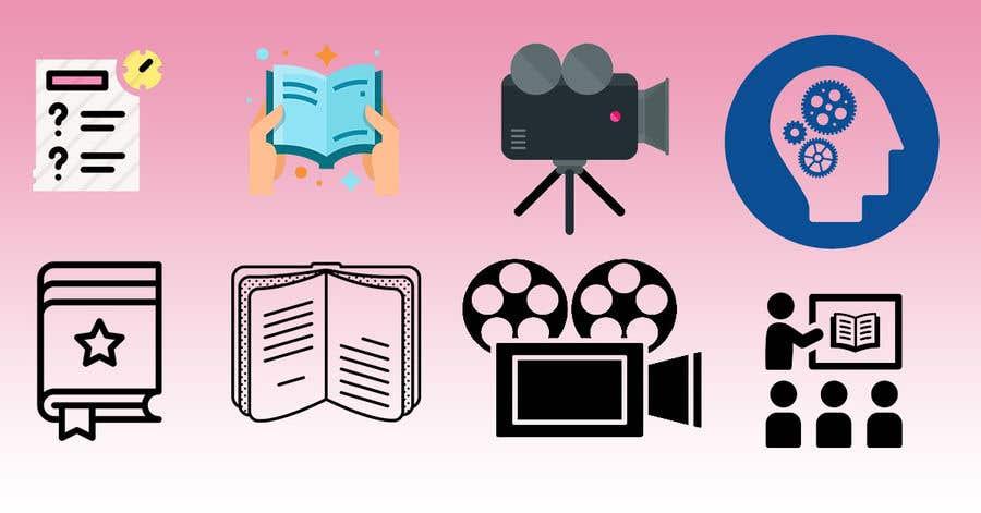 Penyertaan Peraduan #                                        19                                      untuk                                         6 icons for a website