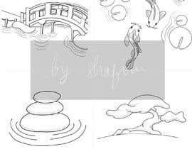 #17 untuk line art for background drawings on website oleh shafirafarah