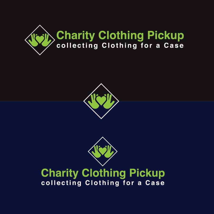Contest Entry #                                        4                                      for                                         Charity Clothing Pickup Logo