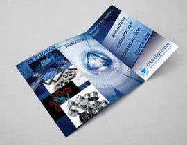 #13 for Urgent-style a 3-fold brochure for services (themes of 3D, animation, apps) af todtodoroff