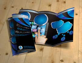 #7 cho Urgent-style a 3-fold brochure for services (themes of 3D, animation, apps) bởi inangmesraent