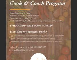 ChiemiDesigns tarafından Flyer for a cooking program için no 71