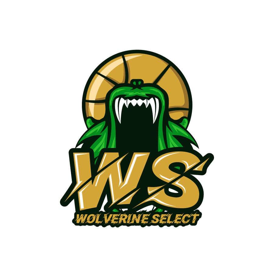 Konkurrenceindlæg #                                        35                                      for                                         Logo for Basketball team (Wolverine Select)
