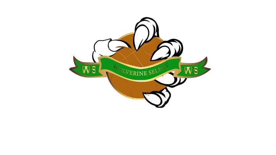 Konkurrenceindlæg #                                        40                                      for                                         Logo for Basketball team (Wolverine Select)