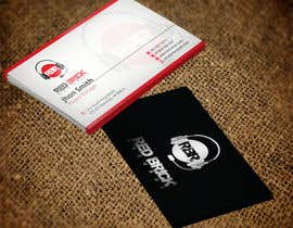 #13 untuk reDesign Business Card for red brick records oleh nazmulhassan2321