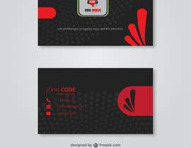 #10 untuk reDesign Business Card for red brick records oleh Munayem71