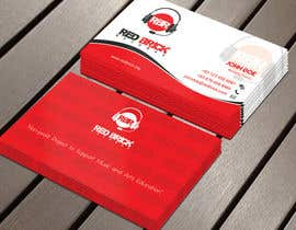 #18 untuk reDesign Business Card for red brick records oleh Derard