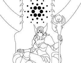 #7 para Goddess of a crypto world (Dark comics) por haidarhashim