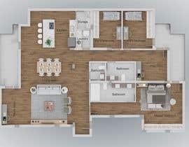 #8 for Floor plan for new flat ideas by biancafilgueira