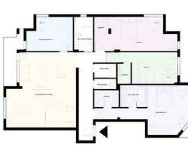 #28 for Floor plan for new flat ideas by marijamil93