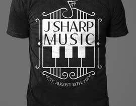 #287 for Design Company T-Shirt for a Local Music Store! by rashedul1012