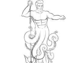 #49 cho Merman Vector Illustration bởi maryseasan19