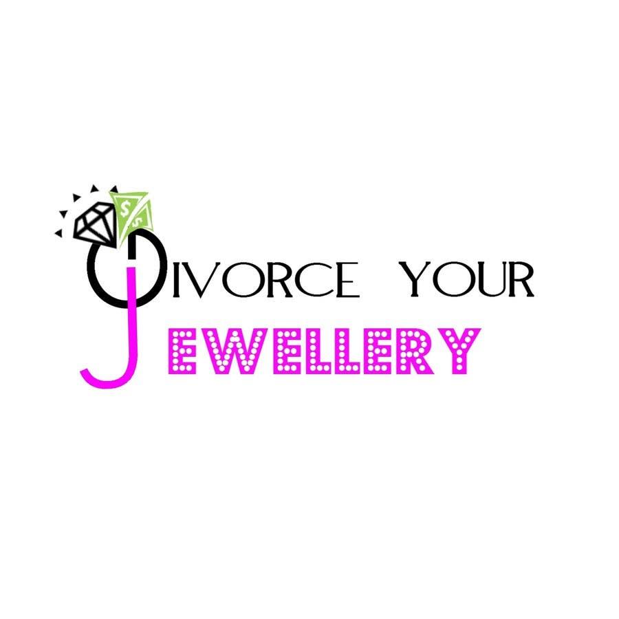 entry 134 by samir2536 for logo design for divorce my jewellery