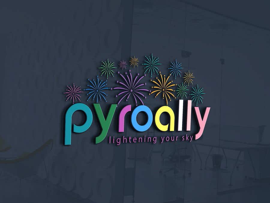 Kilpailutyö #                                        187                                      kilpailussa                                         create a fireworks product logo