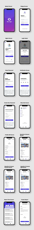 Penyertaan Peraduan #                                        45                                      untuk                                         Design me a Mobile App