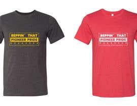 #76 para McVay Elementary Reppin that Pioneer Pride Tee Shirt logo por shamimhossaintop