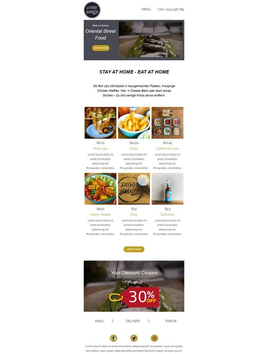 Konkurrenceindlæg #                                        9                                      for                                         Create a HTML email template design and set it up on Klaviyo