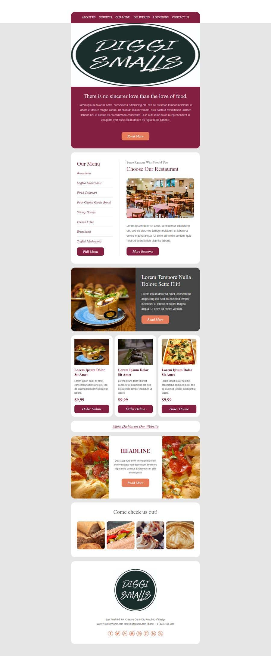 Konkurrenceindlæg #                                        15                                      for                                         Create a HTML email template design and set it up on Klaviyo