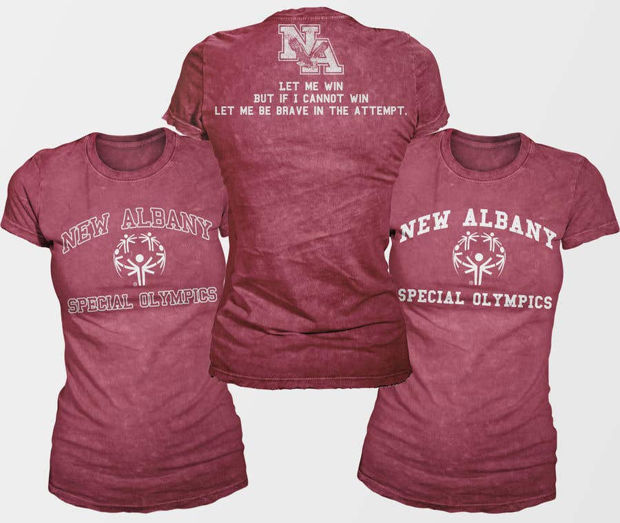 Konkurrenceindlæg #                                        141                                      for                                         New albany Special Olympics Tee Shirt Design