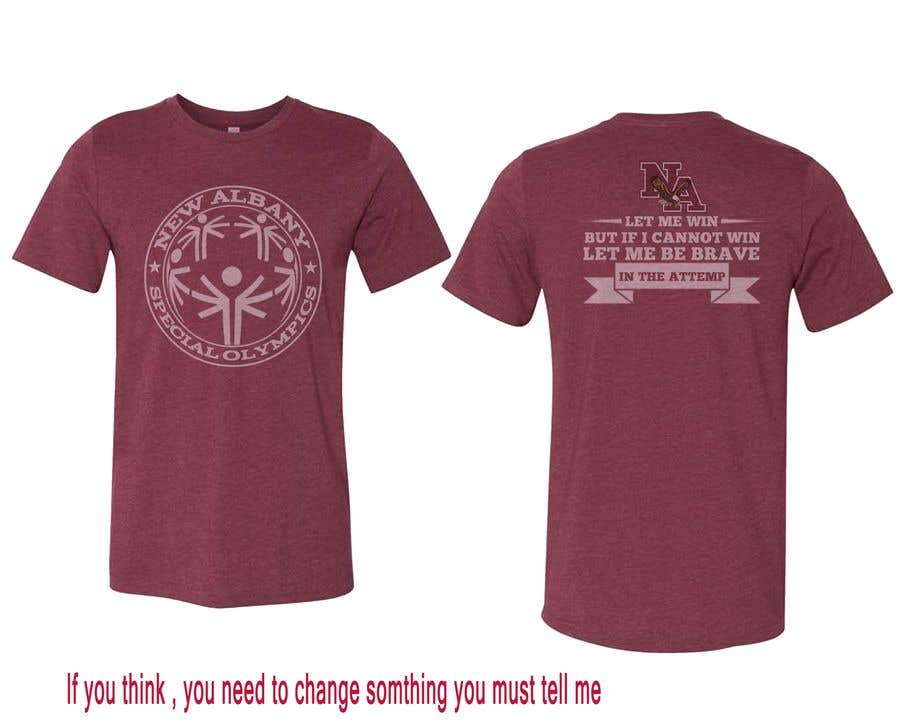 Konkurrenceindlæg #                                        132                                      for                                         New albany Special Olympics Tee Shirt Design