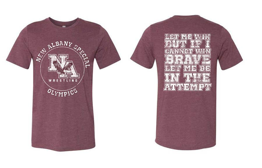 Konkurrenceindlæg #                                        77                                      for                                         New albany Special Olympics Tee Shirt Design