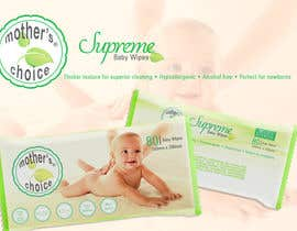 nº 15 pour Create Print and Packaging Designs for A Baby Wet Wipes par elizewatkins
