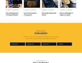 #11 untuk Contest – Crypto Information Website Section: $100 oleh Sultan591960