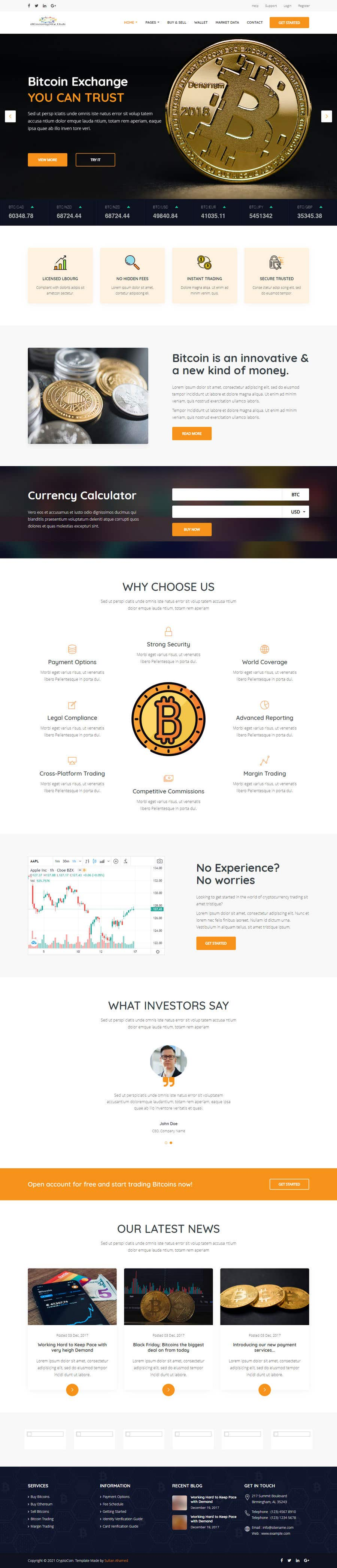 Penyertaan Peraduan #                                        12                                      untuk                                         Contest – Crypto Information Website Section: $100