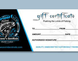 #43 for Gift certificate template by imranislamanik