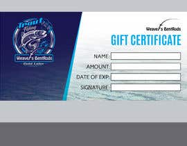 #29 for Gift certificate template by miloroy13