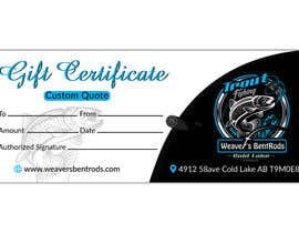 #5 for Gift certificate template by expectsign