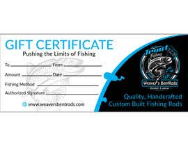 #35 for Gift certificate template by expectsign