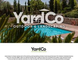 #106 for Logo/brand Creation for outdoor landscape & pool company af BrochaVLJ