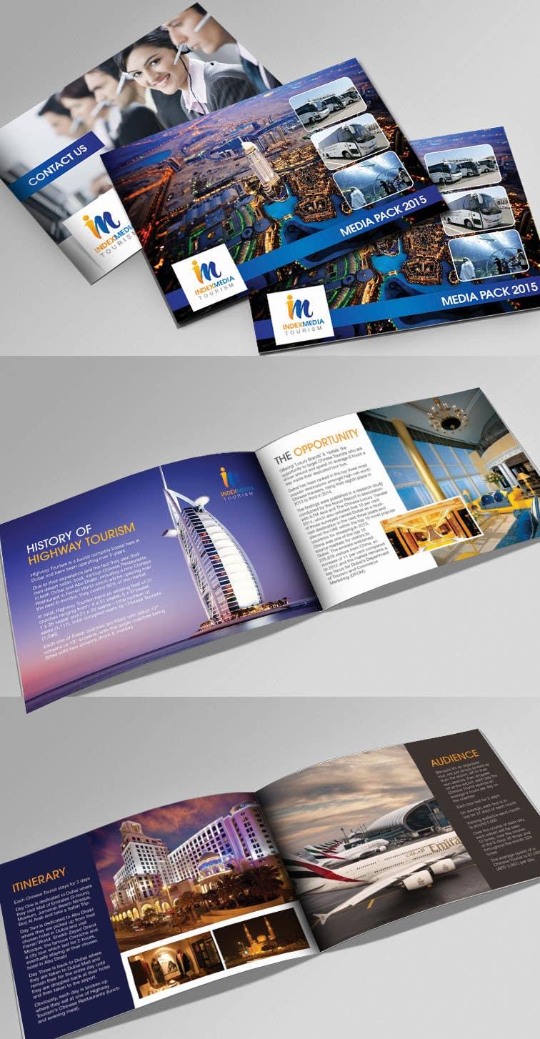Konkurrenceindlæg #                                        40                                      for                                         Design a Brochure for Index Media UAE