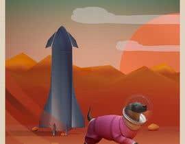 #10 para High-Resolution Retro Mars Posters Featuring Ziggy the Puggle por wanilala