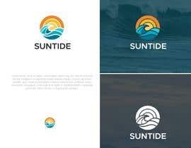 #180 untuk Logo design - Suntide (beach product) oleh junoondesign