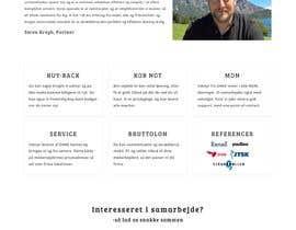 #56 untuk Sharpen simple website oleh Parashshikder