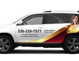 #23 for Partial vehicle wrap design by banduwardhana