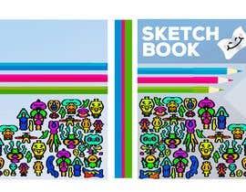 Nro 12 kilpailuun Design a Sketch Book Cover (Front, Back and Spine) käyttäjältä Vanxmad