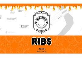 #19 for Design craft beer label for barbecue restaurant af eleganteye4u