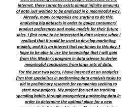 #2 para Statement of Purpose (SOP) writer por Veshali34