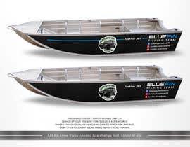 #4 untuk Custom boat wrap oleh SAKTI2