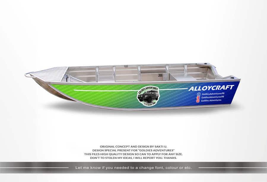 Penyertaan Peraduan #                                        11                                      untuk                                         Custom boat wrap