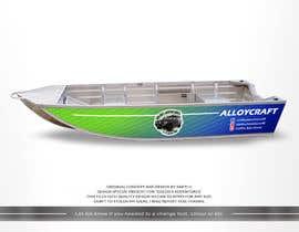 #11 untuk Custom boat wrap oleh SAKTI2