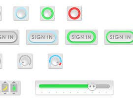 #21 cho Graphic Design , an Icon set images to make GIF based animated UX Buttons. bởi desingero