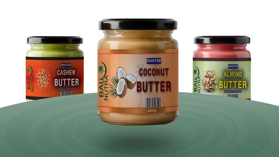 Konkurrenceindlæg #                                        59                                      for                                         Food Label design (4 x flavors of Butter, Almond, Peanut, Cashew, Original)